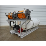 300 Gal Elliptical Skid Unit